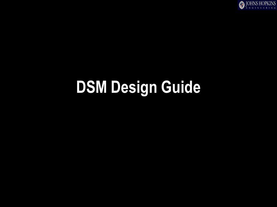 DSM Design Guide