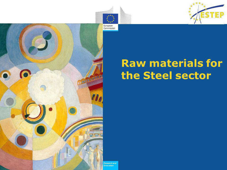 Research and Innovation Research and Innovation Raw materials for the Steel sector