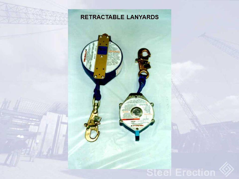 RETRACTABLE LANYARDS