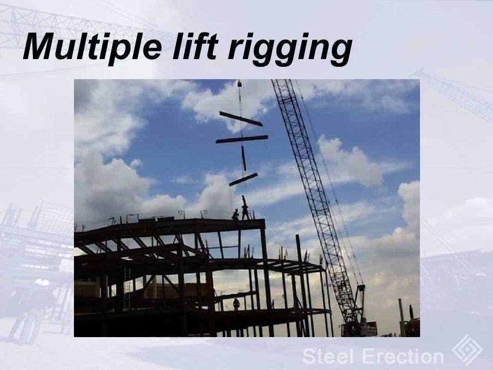 Multiple lift rigging