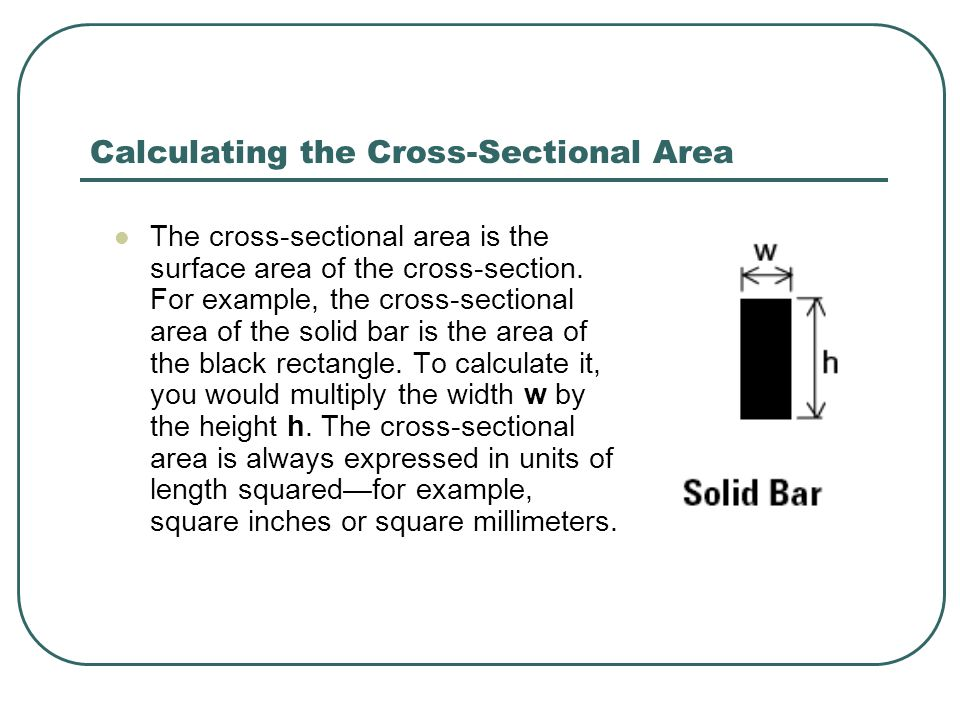 How do the size and shape of the cross- section affect compressive strength.