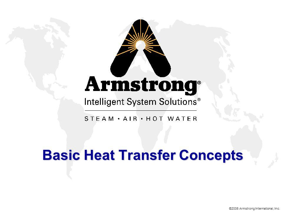 ©2006 Armstrong International, Inc. Basic Heat Transfer Concepts