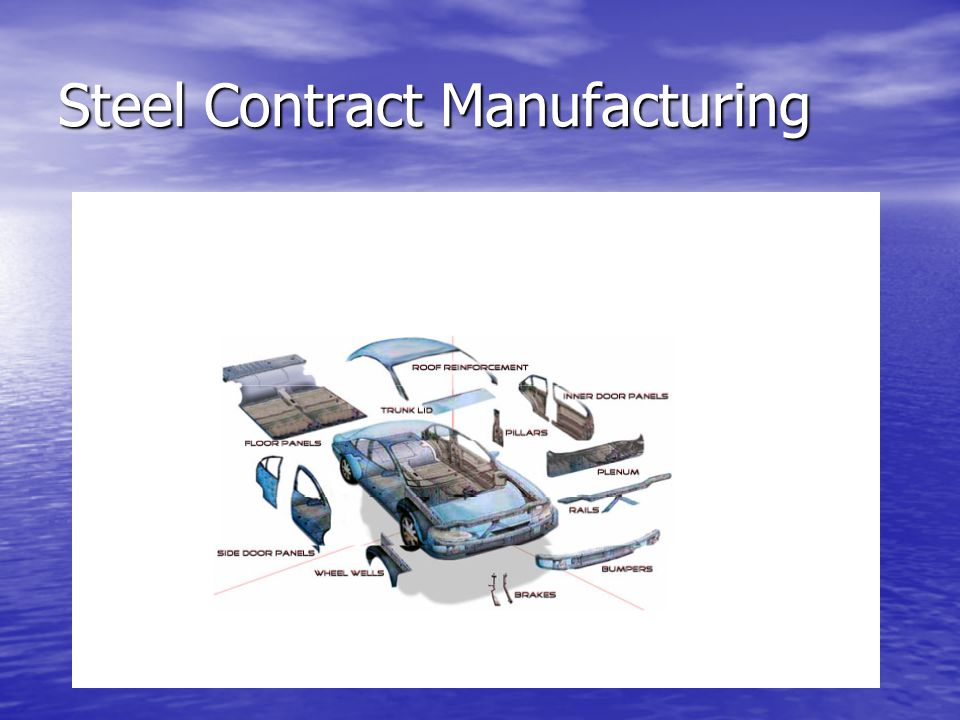 Steel Contract Manufacturing