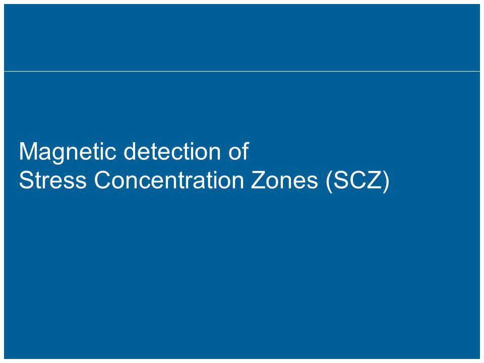 17 Magnetic detection of Stress Concentration Zones (SCZ)