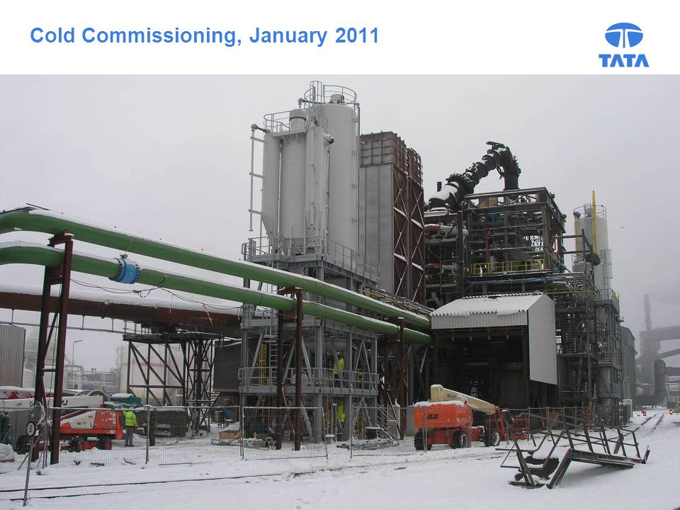16 Cold Commissioning, January 2011