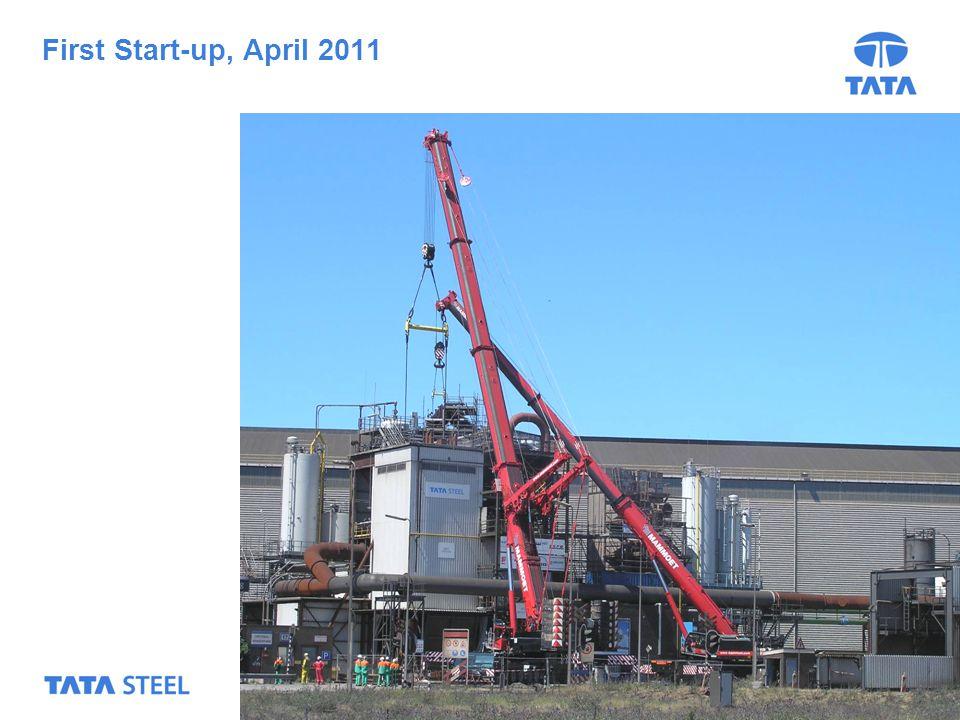 17 First Start-up, April 2011