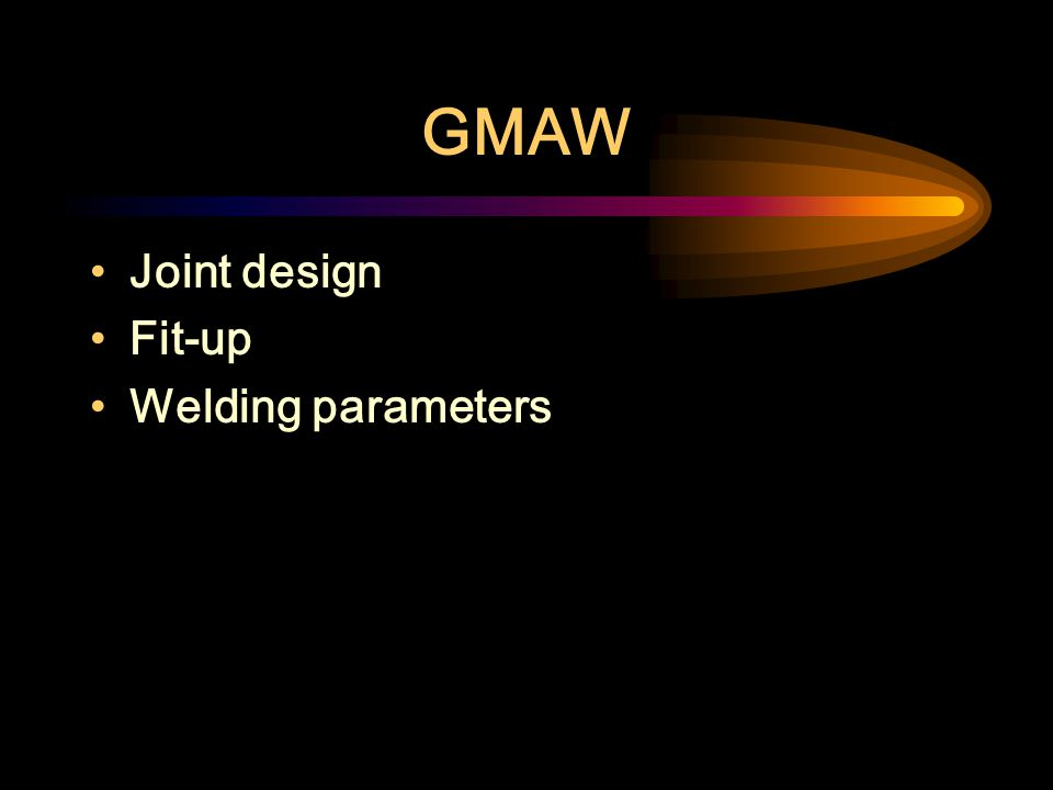 SMAW Cellulosic Electrodes (EXX10, EXX11) Low Hydrogen Electrodes (EXX15, EXX16, EXX18) Rutile electrodes (E6013)