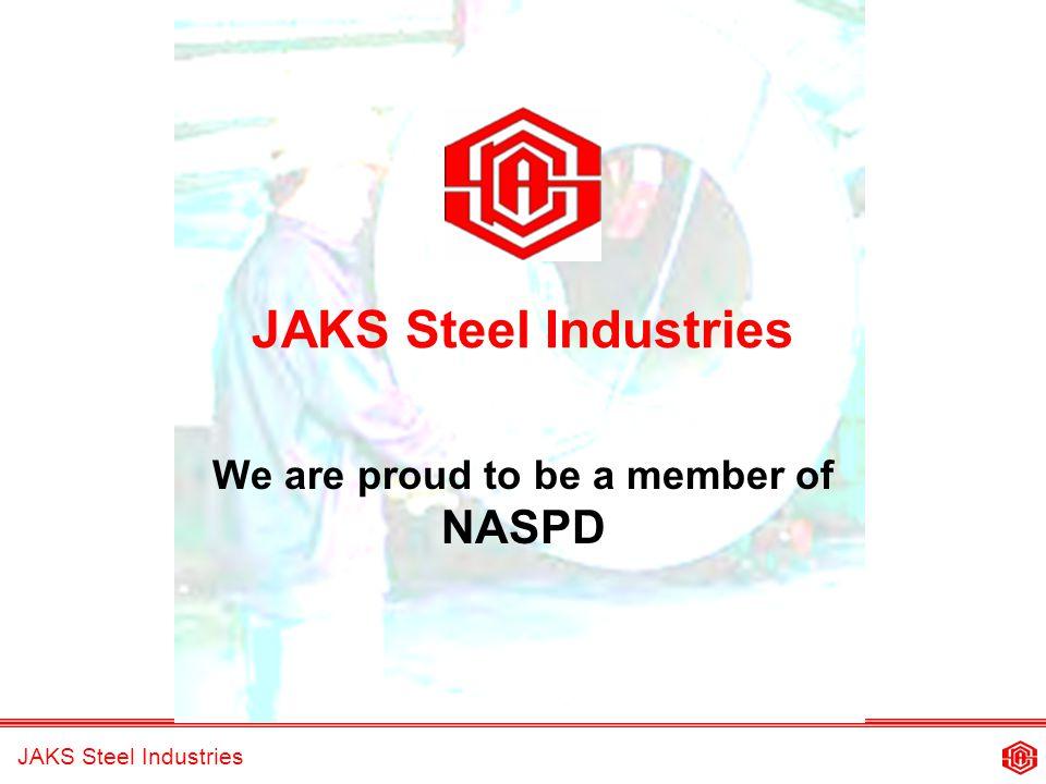 JAKS Steel Industries A member of the JAKS Group of Companies.