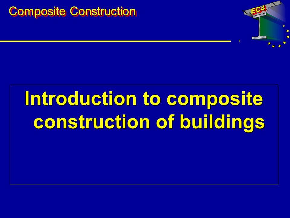 12 Construction elements Composite slabs u Reinforced concrete slab