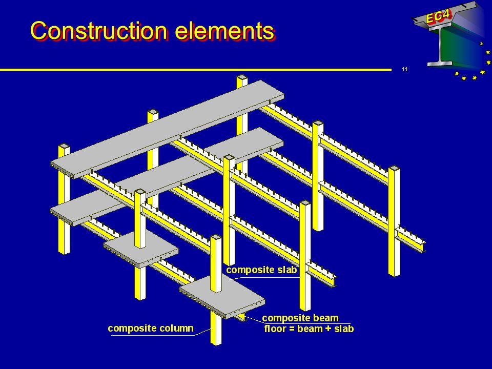 11 Construction elements