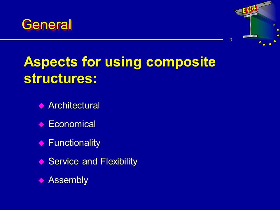 14 Construction elements Slabs u Profile steel sheeting Interlock between steel and concrete frictional mechanical end anchorage