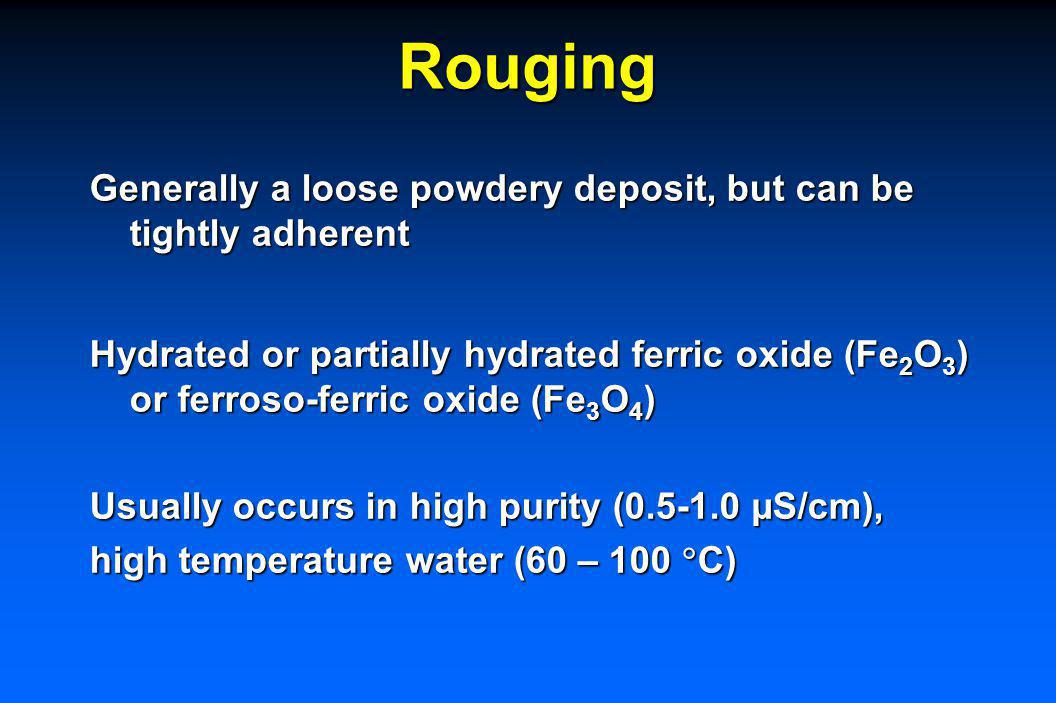 Is Rouge Harmful? No reports or evidence that rouging is precursor to a SS corrosion failure. We are not in a position to comment on whether rouge is
