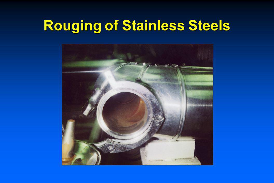 Type 1 – Corrosion of Steel, Deposits Downstream Pumps prime suspects – cavitation or erosion when velocity over ~ 100fps and higher temperatures Delt