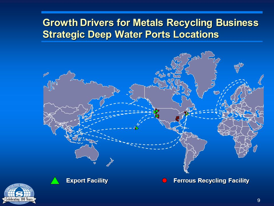 10 Growth Drivers for Metals Recycling Business: Competitive Advantages Strong market position in West Coast and Northeast markets; new presence in manufacturing rich Southeast market Strong market position in West Coast and Northeast markets; new presence in manufacturing rich Southeast market Bi-coastal port facilities provide barrier to entry and ability to access diverse export markets Bi-coastal port facilities provide barrier to entry and ability to access diverse export markets Significant investment in technology drives lower processing costs Significant investment in technology drives lower processing costs 2006 Operating Margin (1) Average 11.7% (1) Excludes Trading Operation Competitive advantages reflected in attractive operating margins