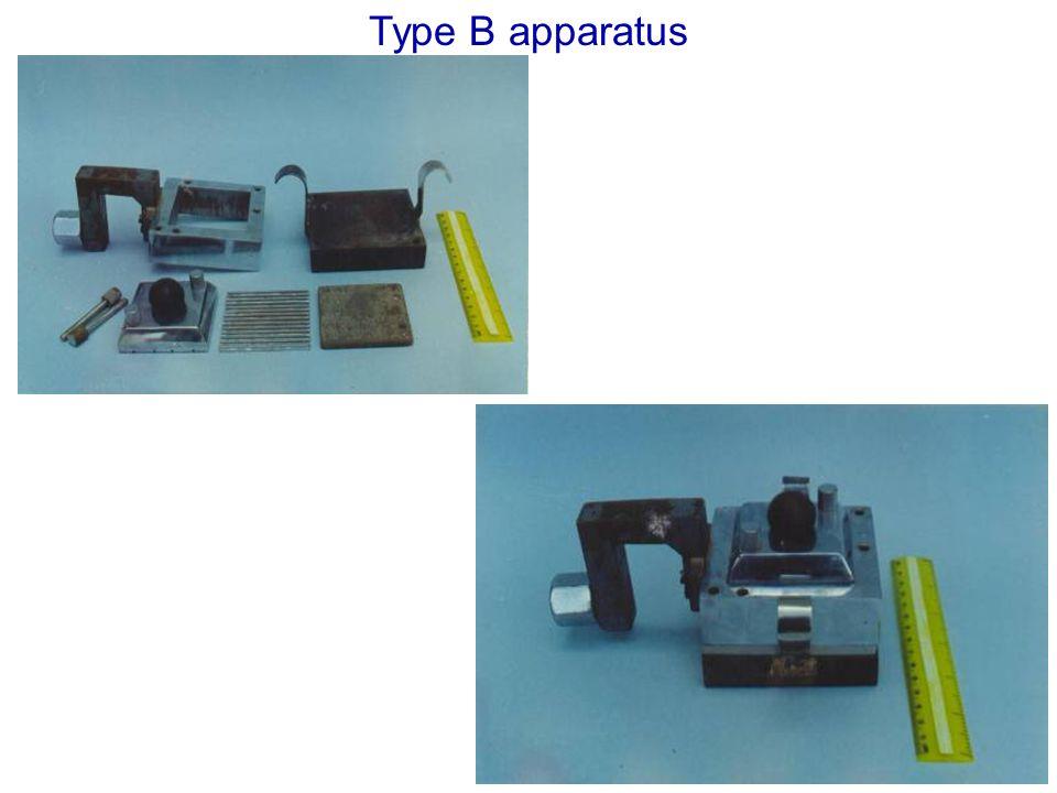 Type B apparatus