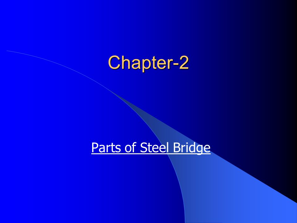 Classification of bridges 1.Classification according to purpose of the bridge a.