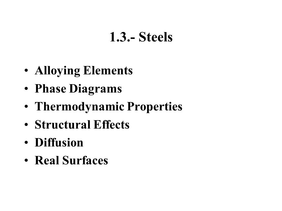 3.- Thermal Processing of Liquid Steel 3.1.- Liquid-Solid Transformations 3.2.- Microstructure Formation during Solidification 3.3.- Macrostructure Formation during Solidification 3.4.-Mathematical Modeling of Steel Solidification