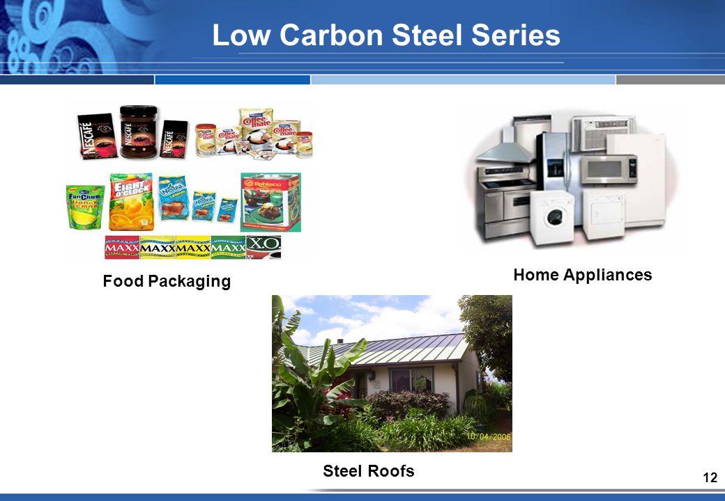 12 Food Packaging Low Carbon Steel Series Steel Roofs Home Appliances