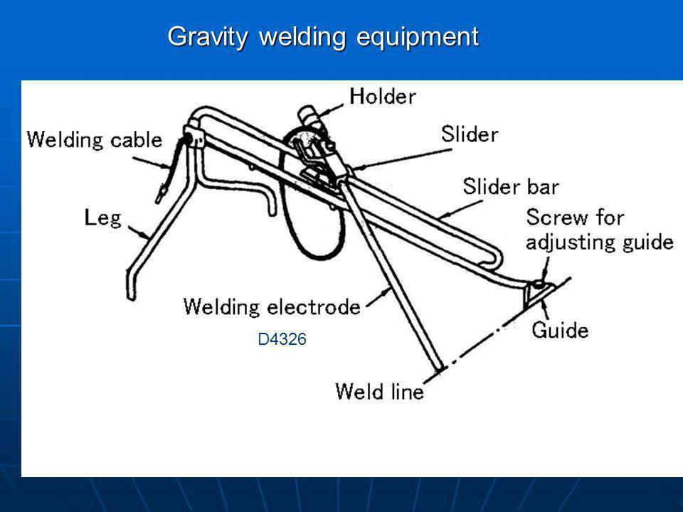 Gravity welding equipment D4326