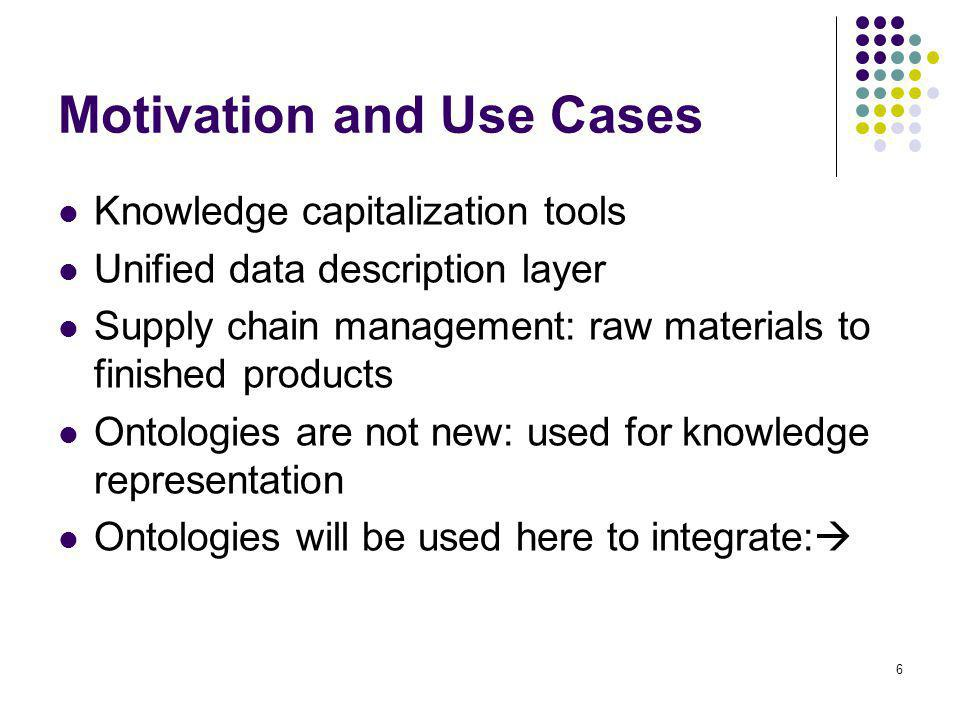 17 Modeled Factory and Metallurgical Routes Application of ontology design and semantic web.