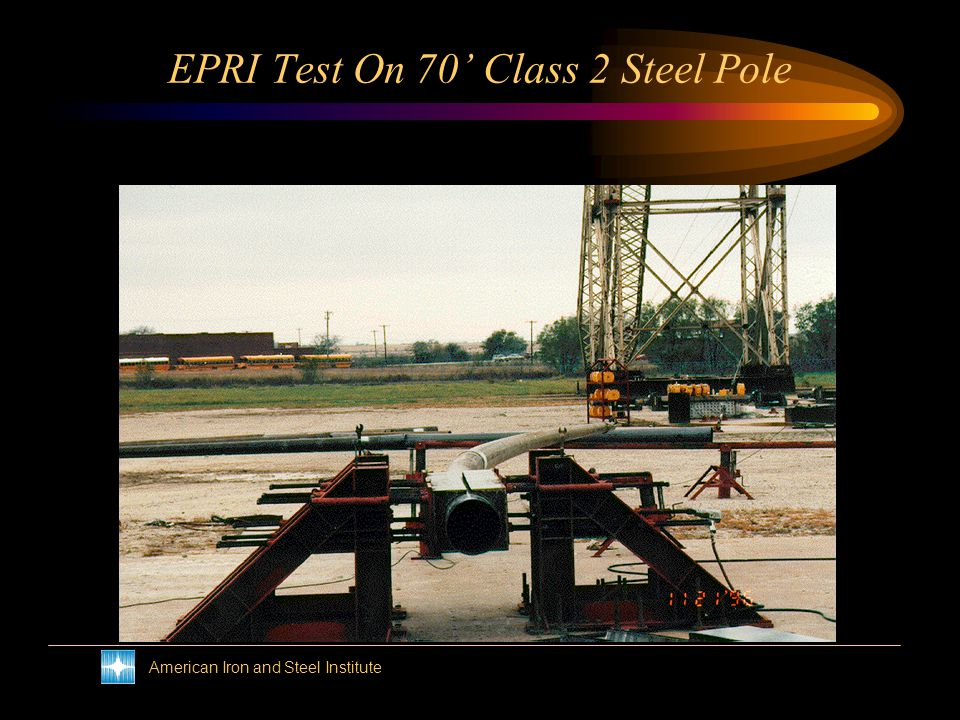 American Iron and Steel Institute Guy Attachment Test On Steel Pole