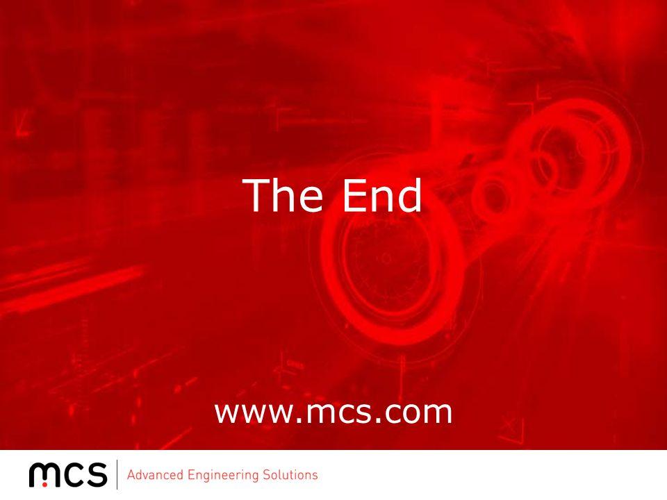 www.mcs.com The End