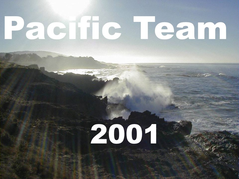 Pacific Team 2001