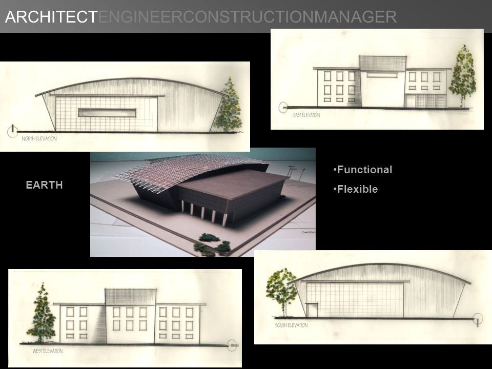 ARCHITECTENGINEERCONSTRUCTIONMANAGER EARTH Functional Flexible