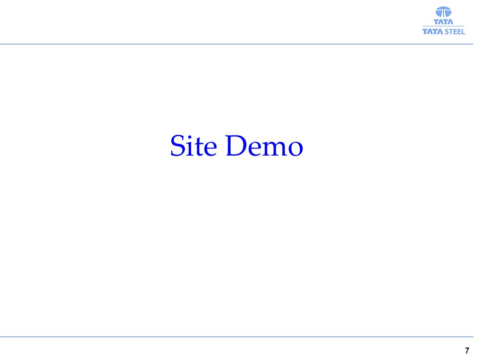 7 Site Demo