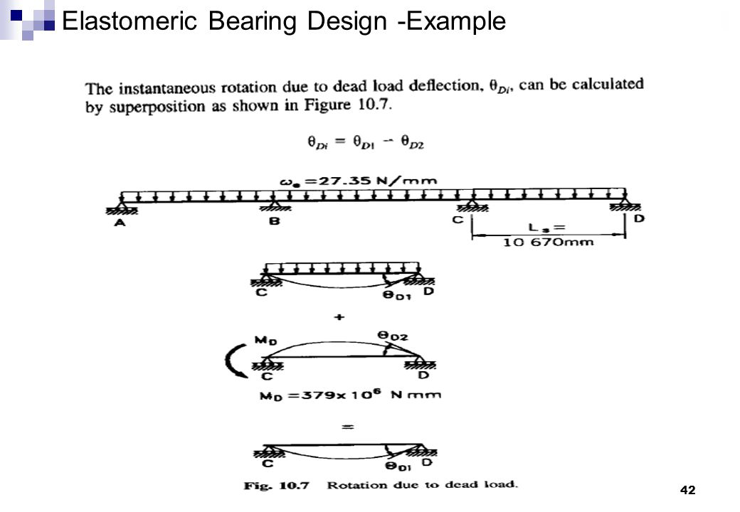 42 Elastomeric Bearing Design -Example