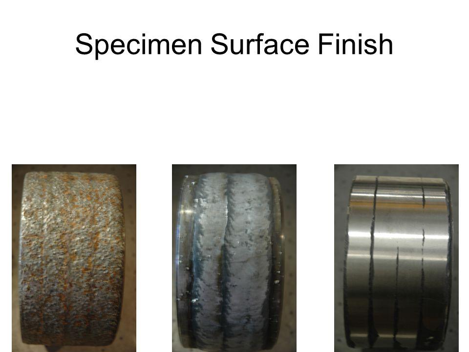 Specimen Surface Finish
