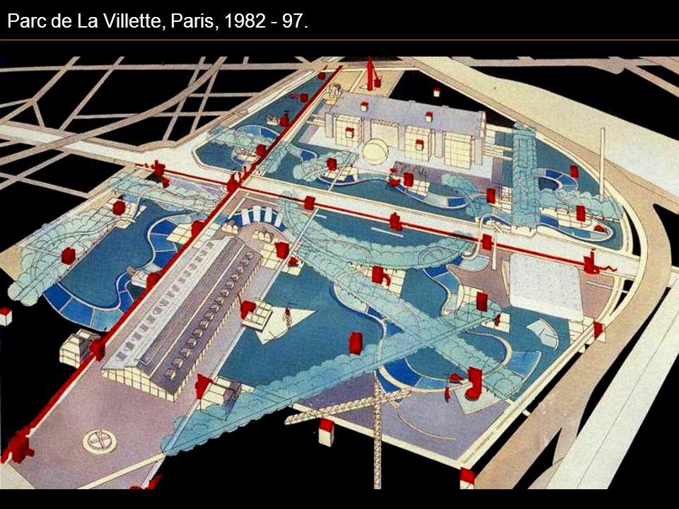 Parc de La Villette, Paris, 1982 - 97.