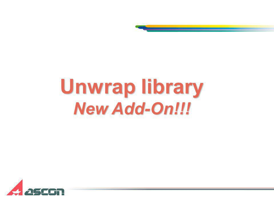 Unwrap library New Add-On!!!