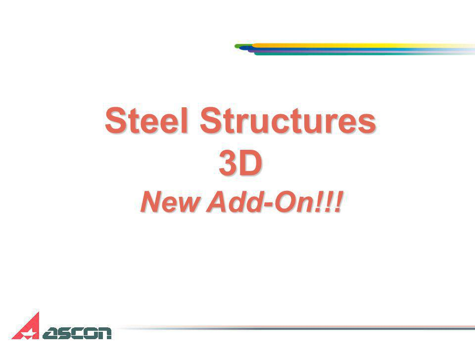 Steel Structures 3D New Add-On!!!