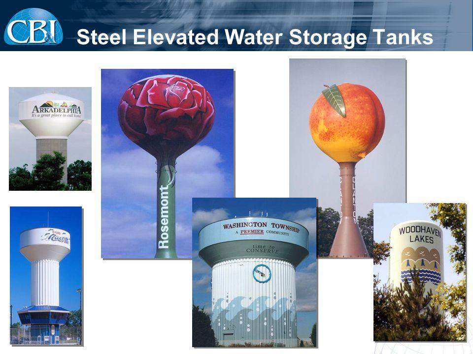 Steel Elevated Water Storage Tanks