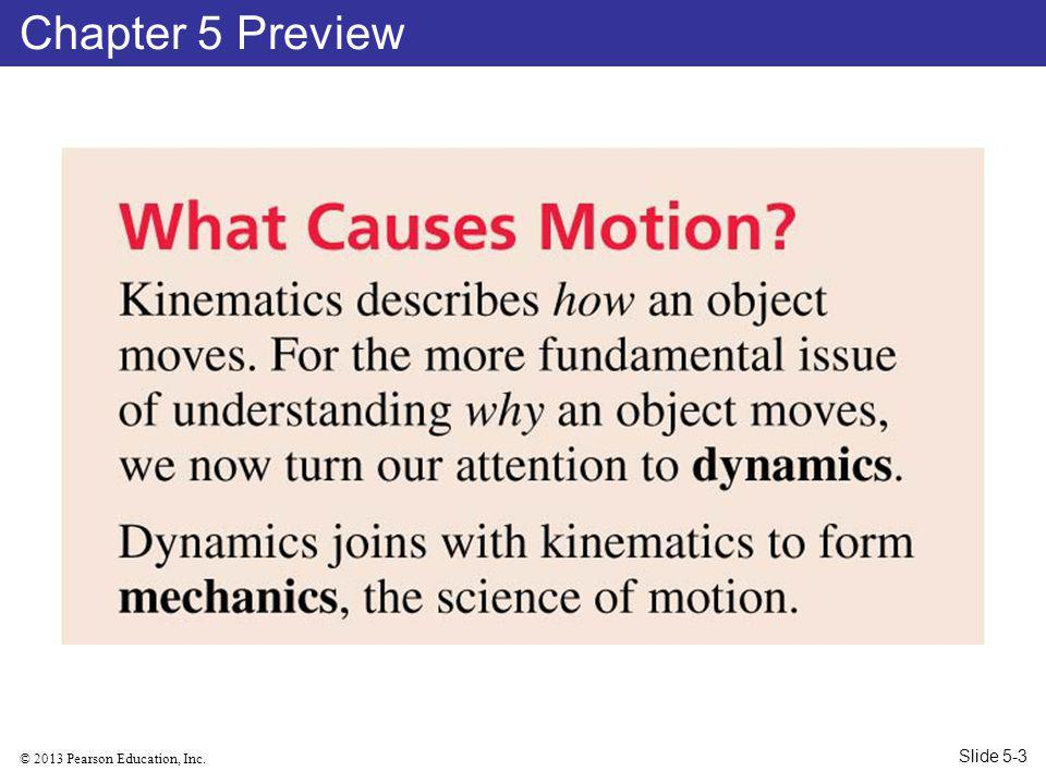 © 2013 Pearson Education, Inc. Chapter 5 Preview Slide 5-3
