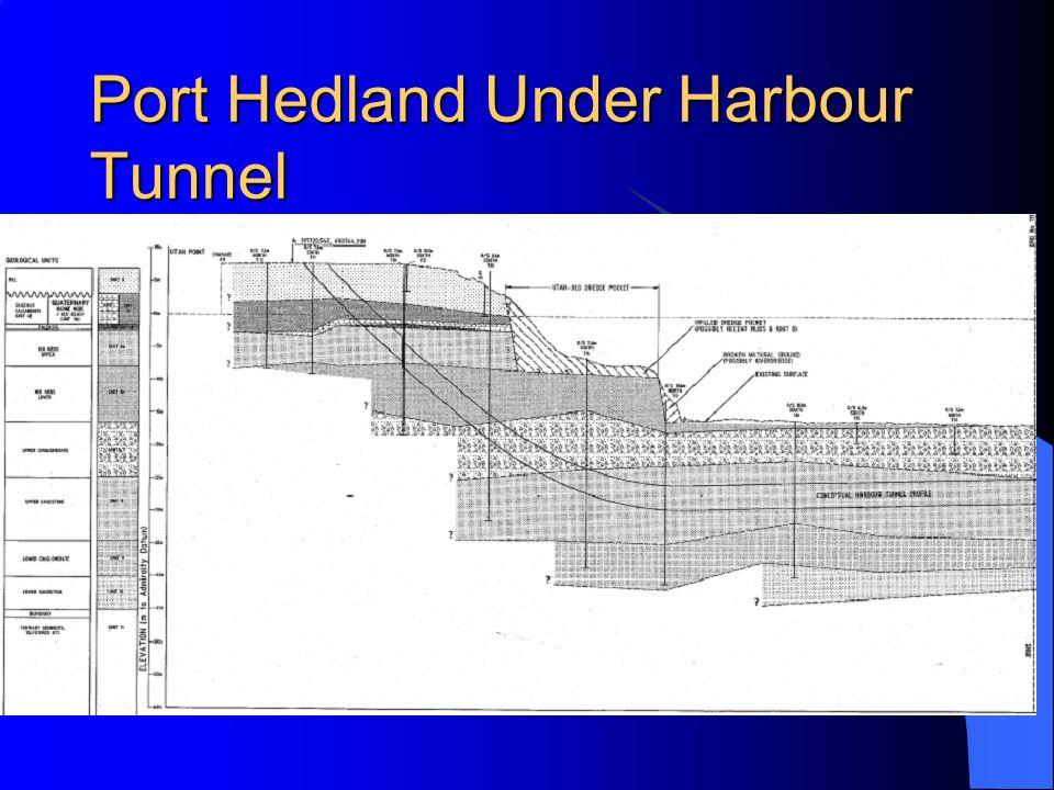 Port Hedland Under Harbour Tunnel