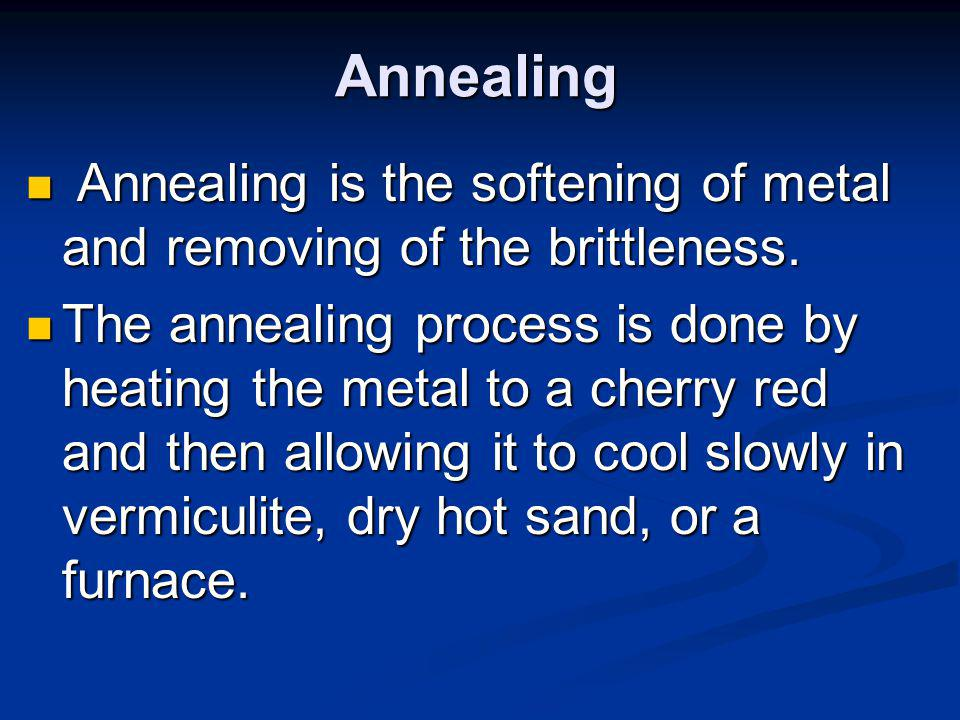Tempering Tempering is obtaining the desired hardness and toughness in metal.