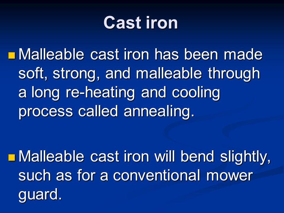 Wrought iron a product of pig iron that has had most of the carbon removed, is a two-component metal consisting of high purity iron and iron silicate.