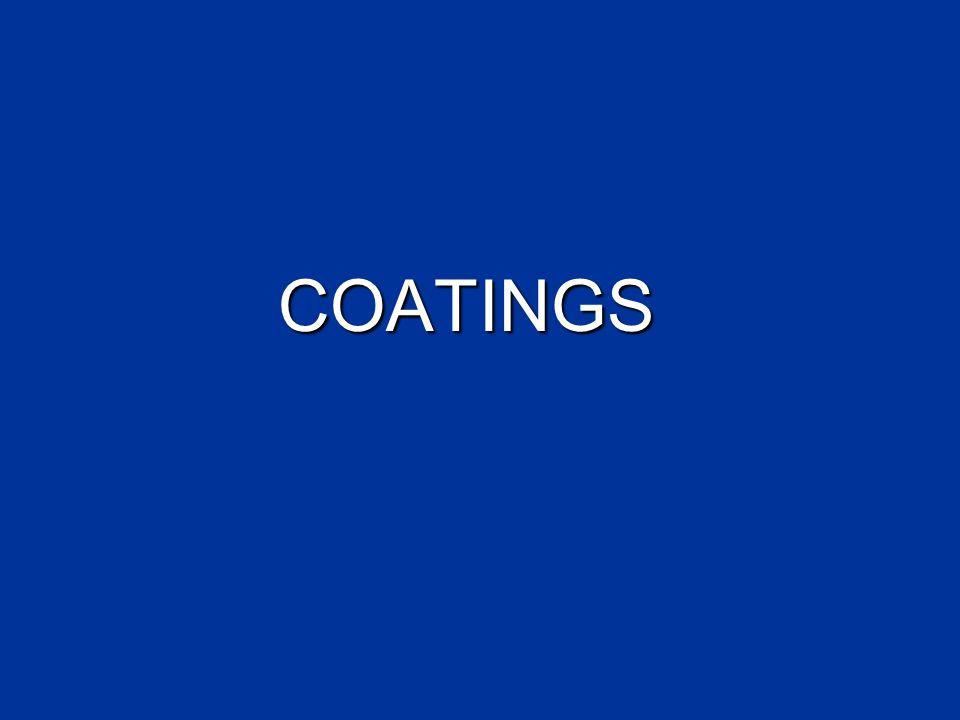 COATINGS COATINGS