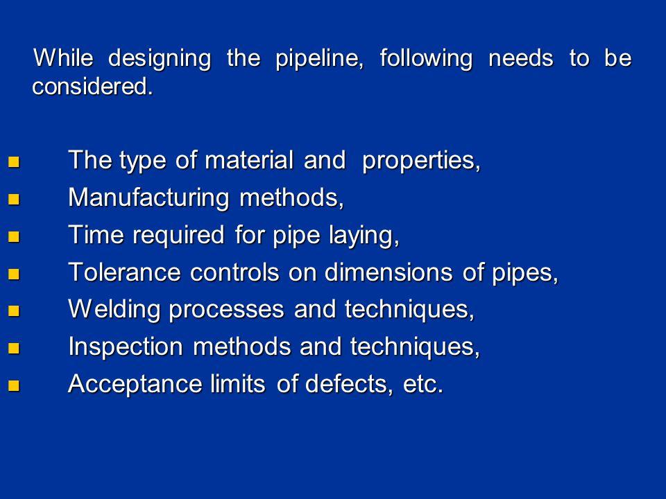 SPECIFICATION FOR LINE PIPE API 5L/2007 API 5L/2007 ISO 3183/2007 ISO 3183/2007 NACE MR 0175/ ISO15156 NACE MR 0175/ ISO15156