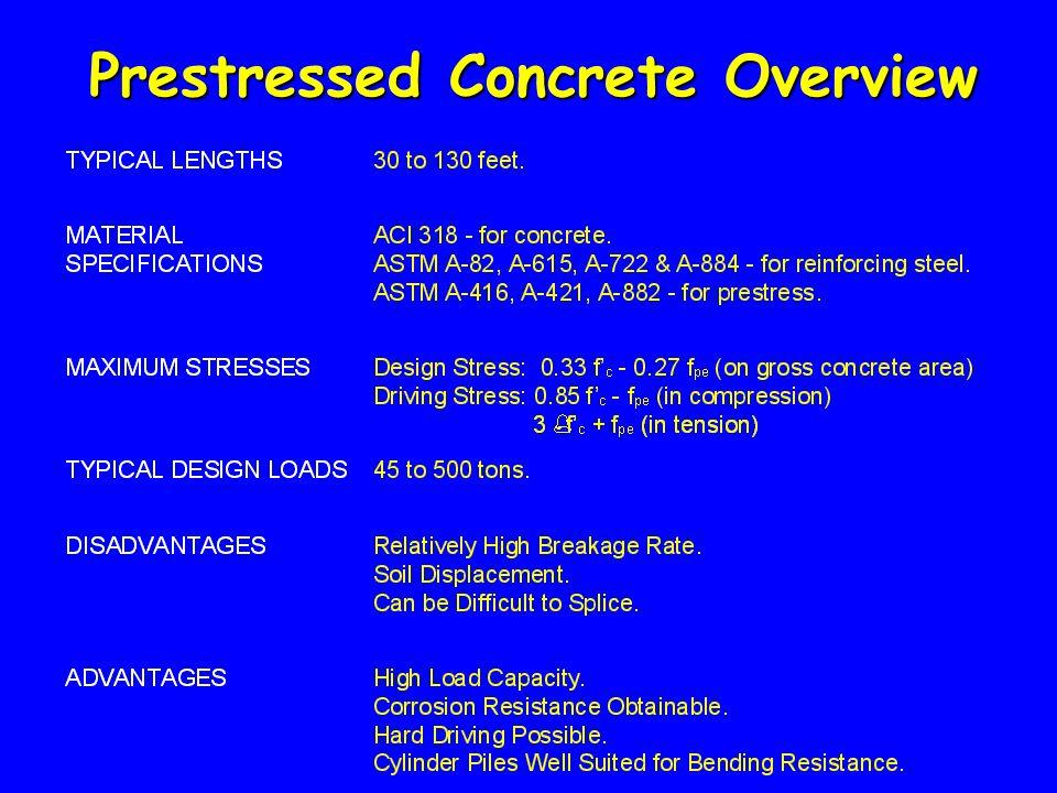 Prestressed Concrete Overview