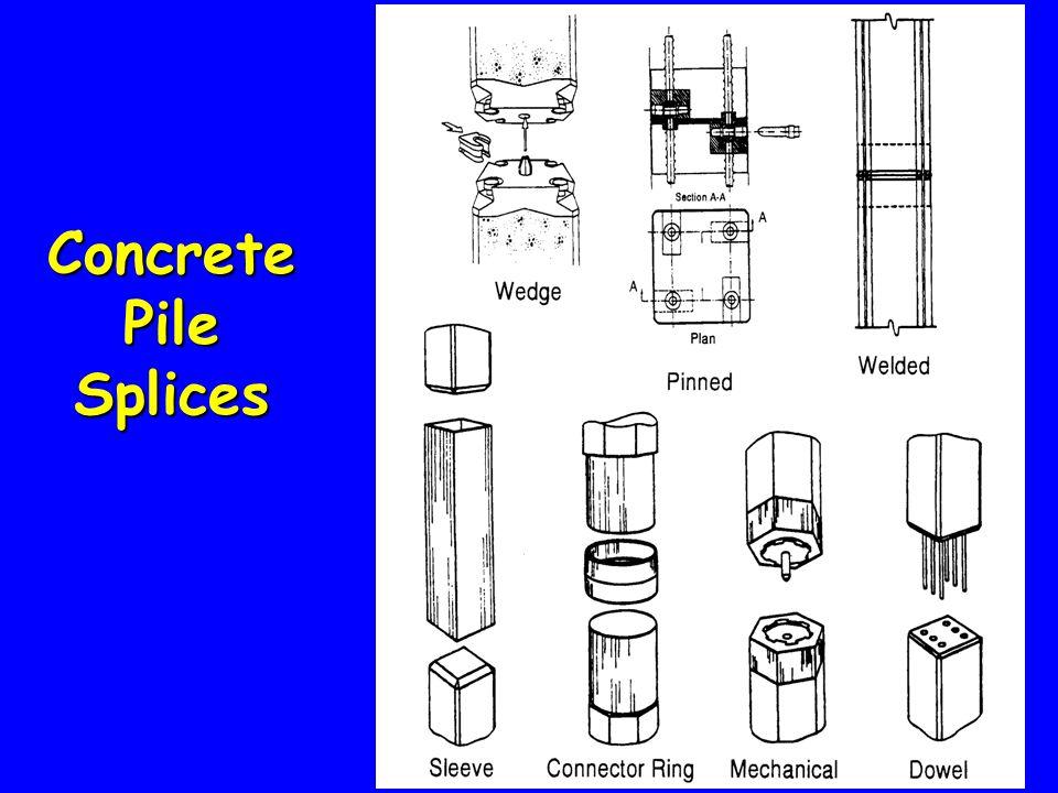 Concrete Pile Splices