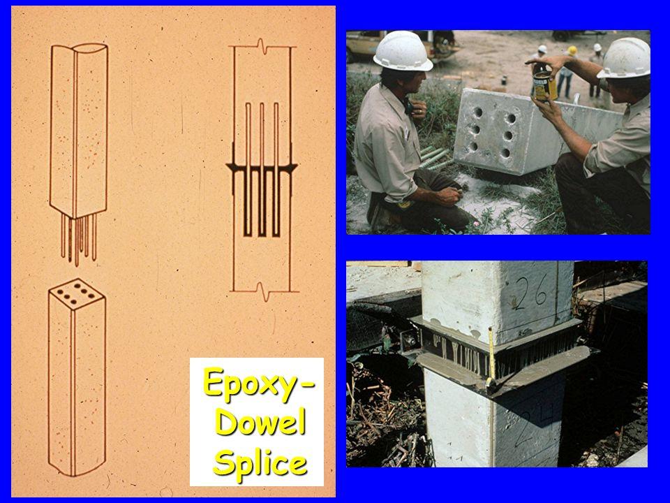 Epoxy- Dowel Splice