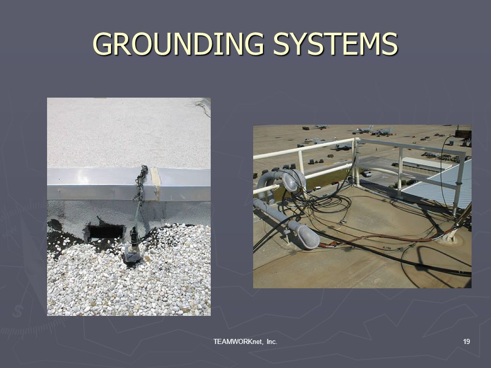 TEAMWORKnet, Inc.19 GROUNDING SYSTEMS