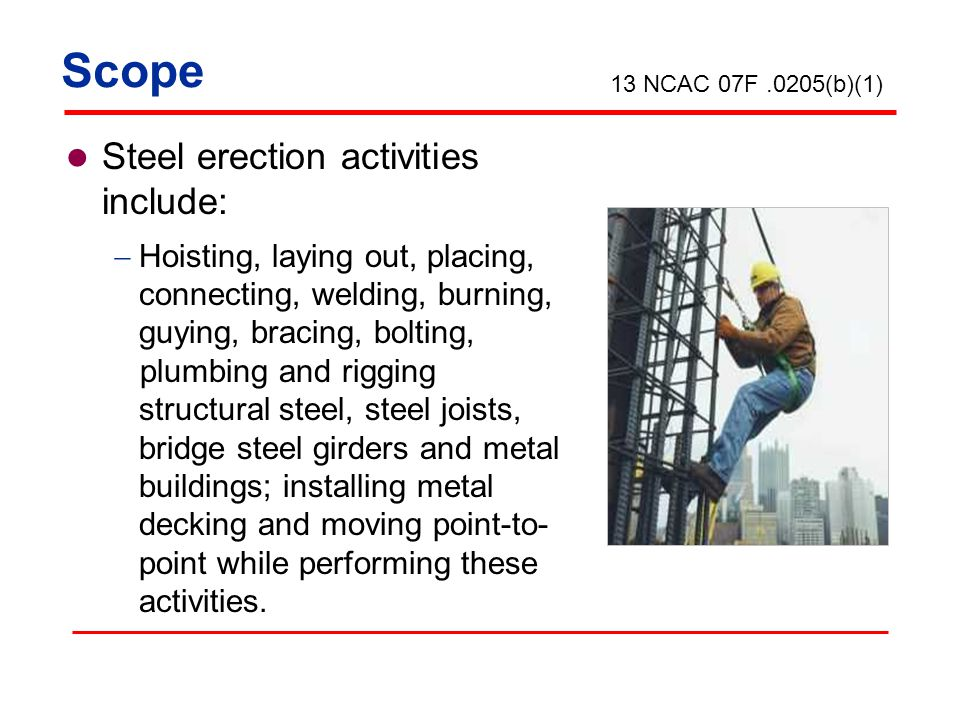 Special Training Multiple lift rigging Hazards associated with multiple lifts Procedures and equipment to perform multiple lifts 1926.761(c)(1)