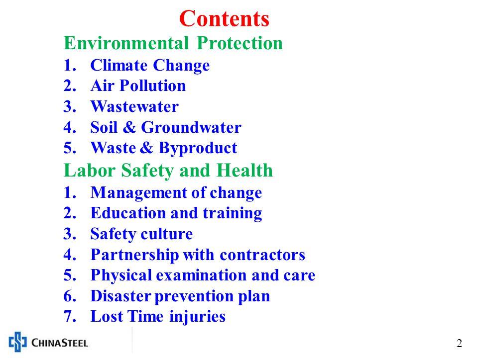 3 Environmental Protection