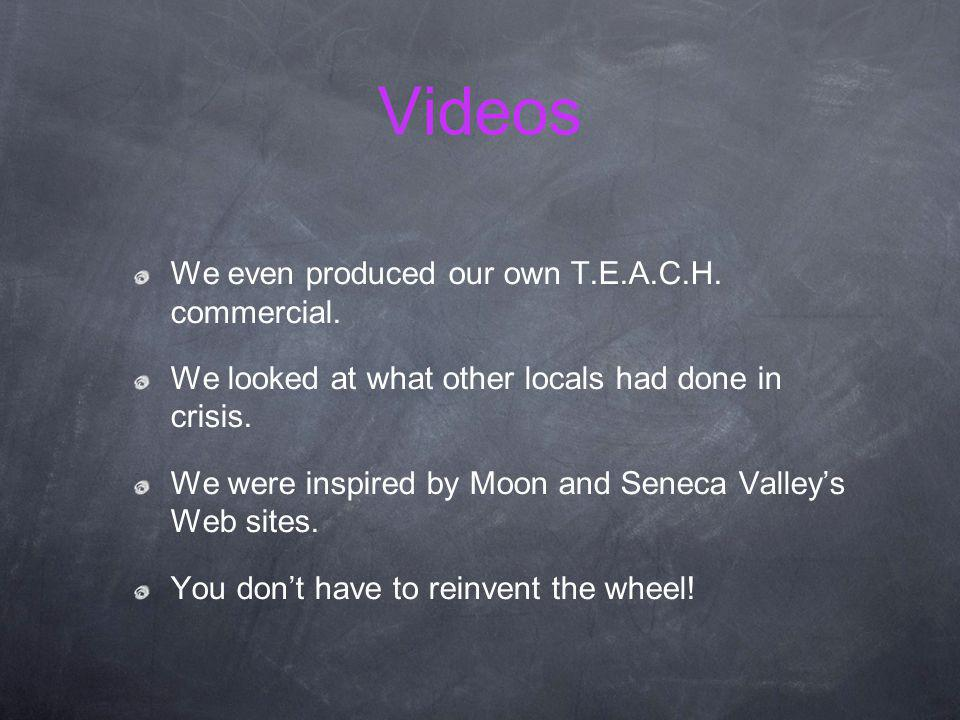 Videos Teach commercial