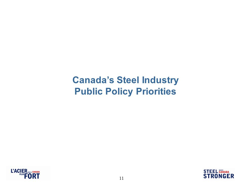 11 Canadas Steel Industry Public Policy Priorities