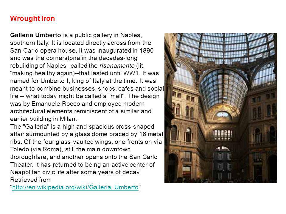 Galleria Umberto is a public gallery in Naples, southern Italy.